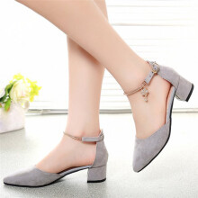 BESSKY High Heels Shoes Wedding Shoes Summer Sandals Shoes Platform Wedge Shoes_