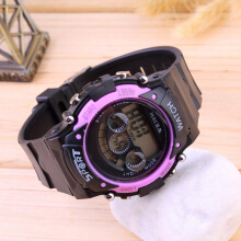 Fashional Multifunctional Children's Waterproof Electronic Watch for Sports