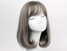 Ladies long section in the blooming fashion wig sets