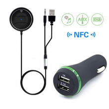 NFC Bluetooth Car Kit-JRBC01 Black