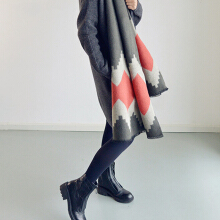 Women Fashion Oversized Blanket Scarf Wrap Shawl Cozy Faux Cashmere New
