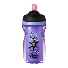 TOMMEE TIPPEE Insulated Straw Cup - Purple