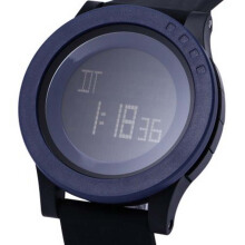 SKMEI  Jam Tangan Unisex Digital Casual Waterproof LED Display 1142 -  Biru Tua