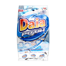 DAIA Powder Detergen Bag - Putih 1.8 kg