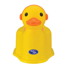 BABY SAFE Duck Potty - Yellow
