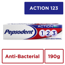 PEPSODENT Action 123 Pasta Gigi Anti Bacterial 190gr