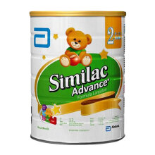 SIMILAC Gain Advance 2 Susu Formula Tin - 850gr