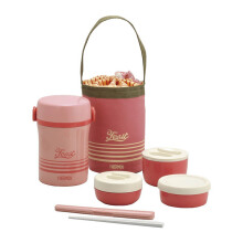 THERMOS Stainless Lunch Jar Coral - Pink (JBC-801 CP)