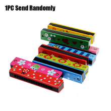 kid Painting Electronic Harmonica Early Educational Instrument Toy random types