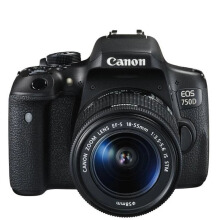 Canon EOS 750D Kit EF-S 18-55mm f/3.5-5.6 IS STM WiFi Black