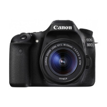 Canon EOS 80D Kit 18-55mm Lens Black