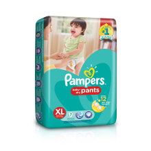 PAMPERS Popok Baby Dry Pants XL-7