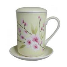 ST. JAMES Mug Set Blossom Yellow  11 Oz