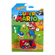 HOT WHEELS Super Mario Bread Box 6/8