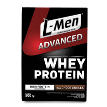 L-MEN Advance Whey Protein Chocolate Vanilla 500g
