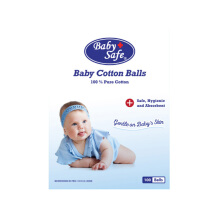 BABY SAFE Cotton Balls - 100 Balls CB050