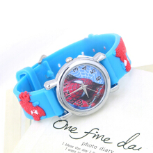 Marvel Cartoon Child Boys Kids Analog Quartz Wrist Watch Rubber