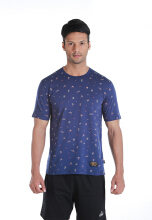 SPECS PLAYTIME SLIM T-SHIRT - NAVY BLUE