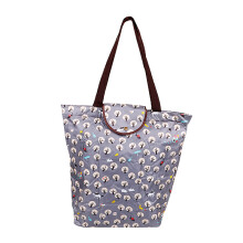 HK Shopping Bag Trees - Grey 39x37x13cm