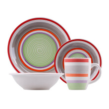 NAKAMI Dinner Set Green Dominan 2603-G - 16PCS