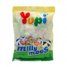 YUPI Milly Moos with Milk Hanging Bag 120gr