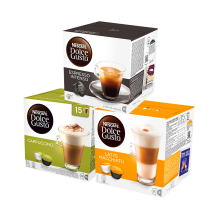 NESCAFE DOLCE GUSTO Kapsul Mixed A - 3 Box [Free Serena Tea Spoon]