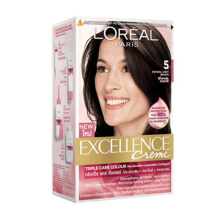 L'OREAL Excellence Creme #5 - Cat Rambut - Natural Light Brown 259gr