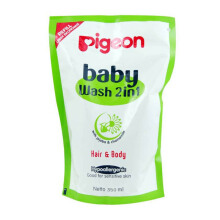 PIGEON Baby Wash Chamomile Refill 350ml - PR060415
