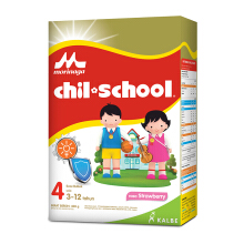 CHIL SCHOOL Susu Strawberry Box - 400gr
