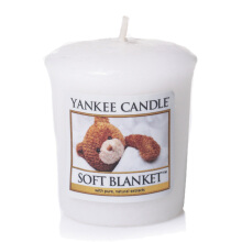 YANKEE CANDLE Votive - Soft Blanket - 49gr