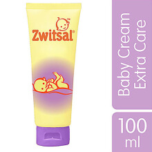 ZWITSAL Extra Care Baby Cream with Zinc 100ml