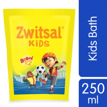 ZWITSAL Kids Bath Active Blue Refill Pouch 250ml