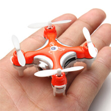 BESSKY Cheerson CX-10C Mini 2.4G 4CH 6 Axis LED RC Quadcopter with Camera RTF_ Orange