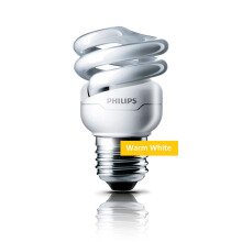 PHILIPS Lampu Tornado 8W Warm White/Kuning