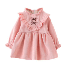 BESSKY Toddler Kids Baby Girls Autumn Long Sleeve Princess Dress Outfits Clothes_