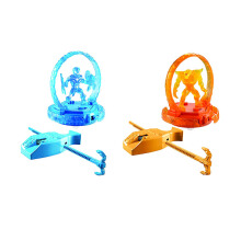 MAX STEEL Turbo Battlers 2 pack 6Y9483