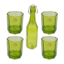 FORMIA Water Drinking FR7091050 Set of 5 - Green