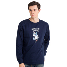 GENERASI 90-AN Meowchael Jackson Long - Navy