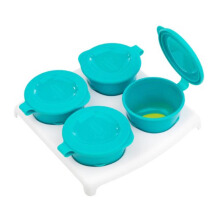 TOMMEE TIPPEE Pop Up Freezer Pot (4 pots + tray)