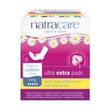 NATRACARE Ultra EXTRA pads Long (NEW) 8's