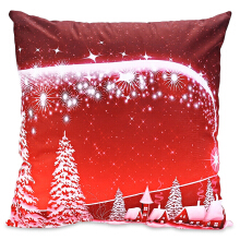 Printed Pillowcase Soft Sofa Cushion Cover