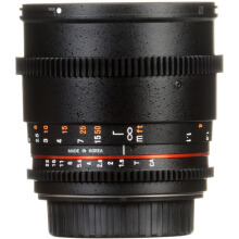 Samyang 85mm T1.5 VDSLRII Cine Lens for Canon EF Mount Black