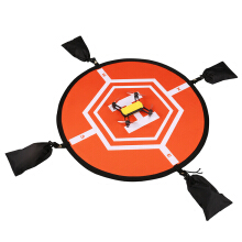 Virhuck RC Landing Pad Protective Shield Planes and Helicopters Orange