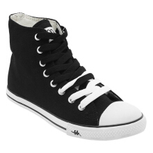 Kappa Simple Hi Sepatu Casual - Black/White