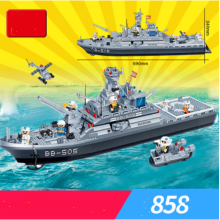 ENLIGHTEN D808 Toy  Compatible with LEGO blocks for 6 years old kid 858pcs blocks