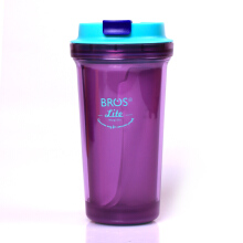 BROS Water Bottle Mug2Go Lite Purple Berry 400ML