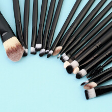 [Kingstore]20 Pcs Makeup Powder Foundation Eyeshadow Eyeliner Lip Cosmetic Brushes Set
