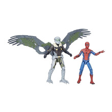 HASBRO Spider-Man Homecoming Spider-Man & Vulture Figures 2-Pack, 3.75-inch