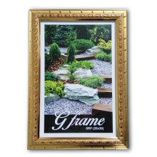 THE OLIVE HOUSE - Fiber Photo Frame Gold