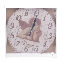 BLOOM & BLOSSOM Wall Clock - Angel Paris